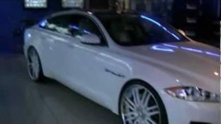 "getlinkyoutube.com-2012 XJL Jaguar supercharge on 24"" Forgiatos"
