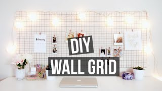 getlinkyoutube.com-DIY WALL GRID | Urban Outfitters + Pinterest Inspired