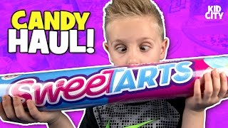 World's Largest Candy Store Shopping Haul 🍭 Sour Gummy Candy Taste Test!
