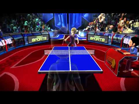 Kinect - Kinect Sports: Table Tennis Gameplay HD