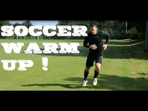 VOL 1: HOW TO WARM UP TUTORIAL | soccer football Training for beginners | extratraining