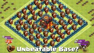 getlinkyoutube.com-Clash of Clans Update Town Hall Defense - Unbeaten Defensive Layout!