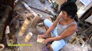 getlinkyoutube.com-HOW TO MAKE EXOTIC BAMBOO FURNITURE. LIFESTYLE, CEBU PHILIPPINES