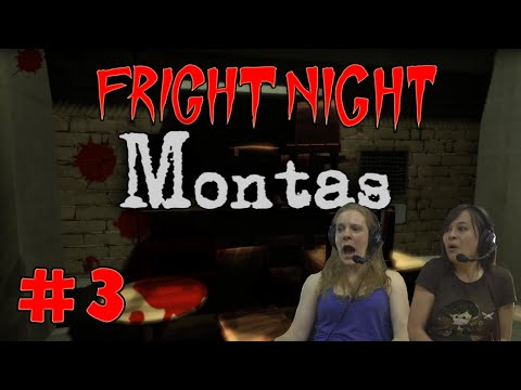 FRIGHT NIGHT: Montas #3 - Slam Dunk!
