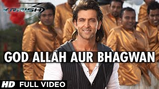 "getlinkyoutube.com-""God Allah Aur Bhagwan Krrish 3"" Full Video Song 