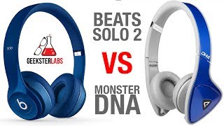 getlinkyoutube.com-Beats By Dre Solo 2 -VS- Monster DNA Headphones