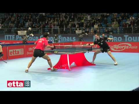 Wang Hao CHN v Paul Drinkhall ENG - ITTF Pro Tour Grand Finals