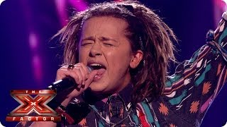 Luke Friend sings Run by Snow Patrol - Live Week 8 - The X Factor 2013