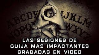 Las Sesiones de Ouija mas Impactantes Grabadas en Video I Pasillo Infinito