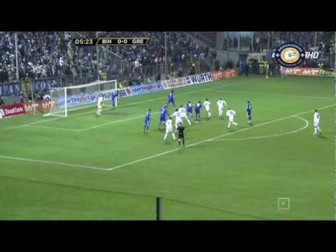 FIFA 2014: Bosnia-Herzegovina 3-1 Greece (BiH - Grčka) Highlights 22-3-2013 1080p-HD
