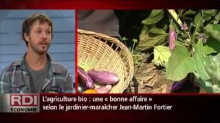 RDI Économie - Entrevue Jean-Martin Fortier