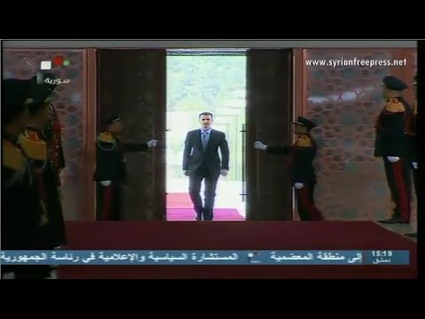 Syria News 19/7/2014, Russia: President al-Assad's inauguration speech emphasize national cohesion