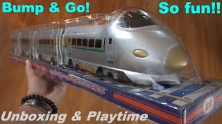 Toy Train for Kids: Bump & Go Train Set Toy - Express Bullet Train Unboxing :-)