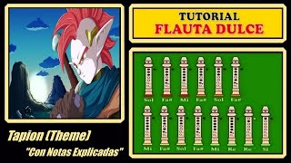 "getlinkyoutube.com-Tapion Theme en Flauta ""Con Notas Explicadas"" (Audio Mejorado)"