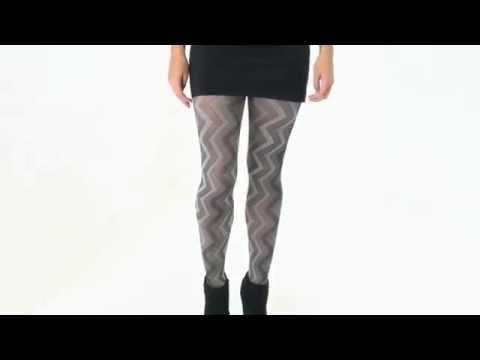 UK Tights - Tiffany Quinn Criss Cross Opaque Tights