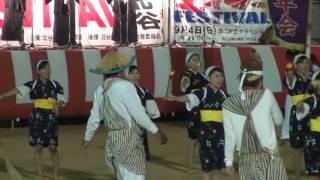 getlinkyoutube.com-05 屋慶名青年会(うるま市)  2016 第37回 エイサーフェスティバル IN 北谷
