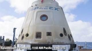 getlinkyoutube.com-SpaceX - Falcon 9, Flight 2