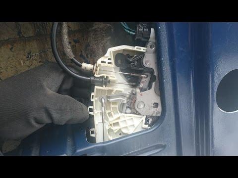 Мерседес спринтер 906 замена замка задней двери