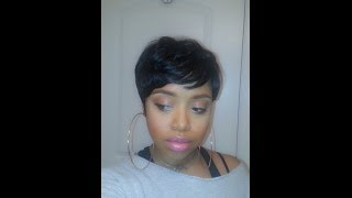 getlinkyoutube.com-Sensationnel Bump Human Hair Wig   Easy 27