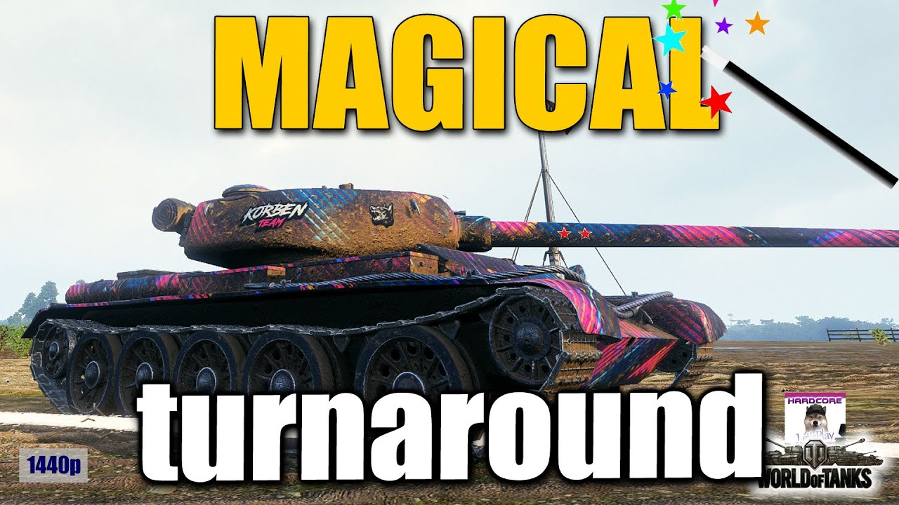 T 54 first prototype  magical turnaround  best World of Tanks games
