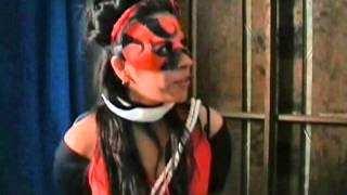getlinkyoutube.com-Superheroine Red Lady