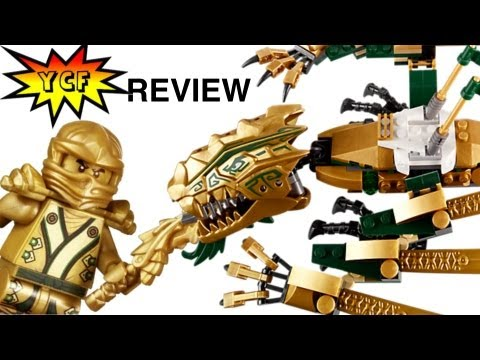 LEGO Ninjago 忍者 닌자고 70503 The Golden Dragon Review