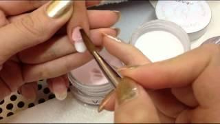 getlinkyoutube.com-Baby Boomer Nail by Odyssey Nail System - Eve Tran