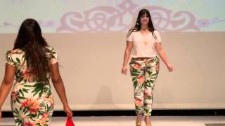 getlinkyoutube.com-Desfile - Moda Para Gordinhas