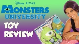 Monsters University Mike Wazowski and Sulley Toy Review