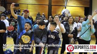 Benito Cervantes Chicago Citywide Boxing 2014