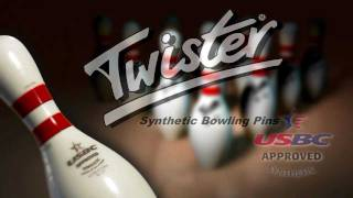 getlinkyoutube.com-Twister Synthetic Bowling Pins