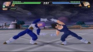 getlinkyoutube.com-Trunks and Vegeta Fusion (Dragon Ball Z Budokai Tenkaichi 3 Mod)