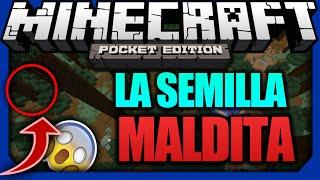 getlinkyoutube.com-La Semilla Maldita De Minecraft PE 1.0.2 | Top 3 Semillas Más Extrañas De Minecraft PE 1.0.2