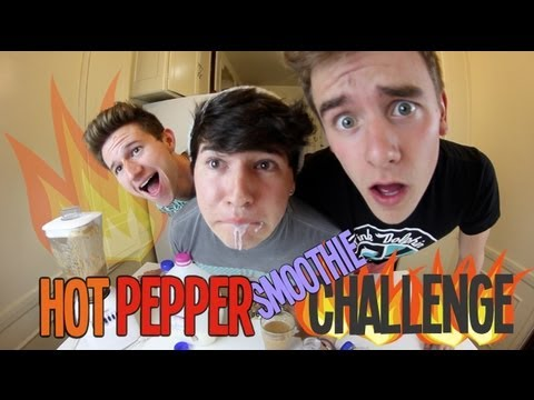 Hot Pepper/Smoothie Challenge