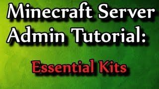 getlinkyoutube.com-Minecraft Admin How-To: Essentials Kits (/kit)
