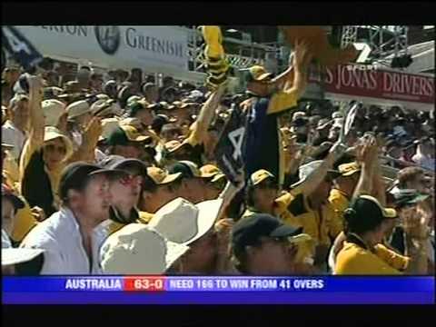 Adam Gilchrist 115* vs England ODI 2005 The Oval