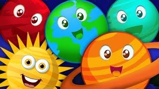 getlinkyoutube.com-planets song   nursery rhymes   kids songs   learn planets   baby videos