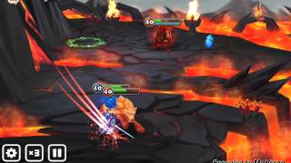 Summoners War: Lapis Magic Knight Solo Famion Hell