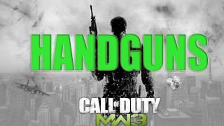 getlinkyoutube.com-MW3 HANDGUNS CONFIRMED - Modern Warfare 3 Pistols & Handguns Pictures Today This Week NEW