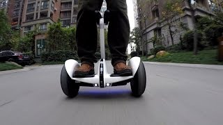 getlinkyoutube.com-Xiaomi Ninebot Bluetooth controlled Mini Segway Outdoor Ride