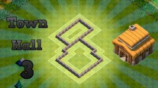 getlinkyoutube.com-Clash Of Clans - Best Town hall 3 defense strategy + defense clips # 2