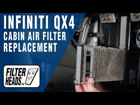How to Replace Cabin Air Filter Infiniti QX4
