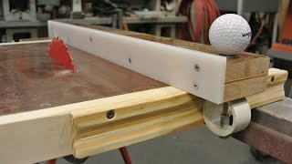 getlinkyoutube.com-Homemade table saw and fence