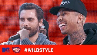 Wild 'N Out   Tyga & Scott Disick Can't Escape the Kardashian Cracks   #Wildstyle width=
