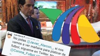 Javier Alarcon a Tv Azteca !!? en platicas con Luis Garcia