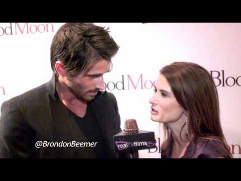 Brandon Beemer, Blood Moon Premiere, Sony Studios