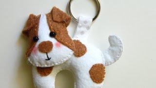 getlinkyoutube.com-How To Make a Precious Felt Dog Keychain - DIY Style Tutorial - Guidecentral