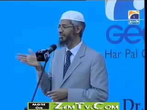 Dr.Zakir Naik Media and Islam Ramadan Special on Geo Tv (Urdu) Part 8/8