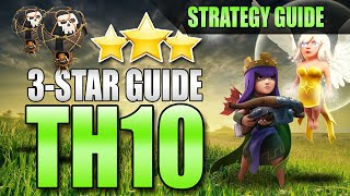 getlinkyoutube.com-TH10 3-STAR STRATEGY GUIDE | Archer Queen Walk + LaLoon