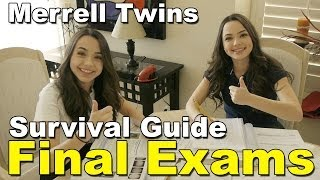 Final Exams Survival Guide - Merrell Twins